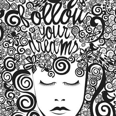 Follow Your Dream ArtWork Made By Tumblr Artist Riya Sen.