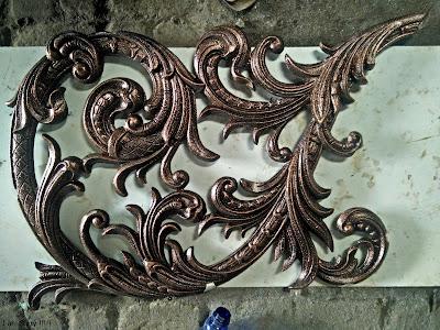 railing, ornamen besi tempa, ornamen pagar klasik