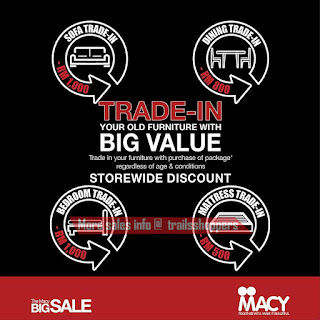 MACY Trade In Promotion 2016