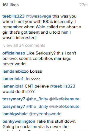 Tee Billz shares details of how Tiwa was insecure when he first met her