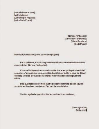 Exemple De Cv Et Modele De Lettre De Motivation Gratuit 2014