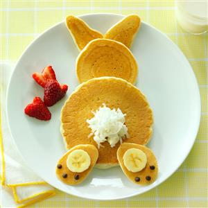 Sammis Blog Of Life Bunny Pancakes For Easter Morning Breakfast Is
