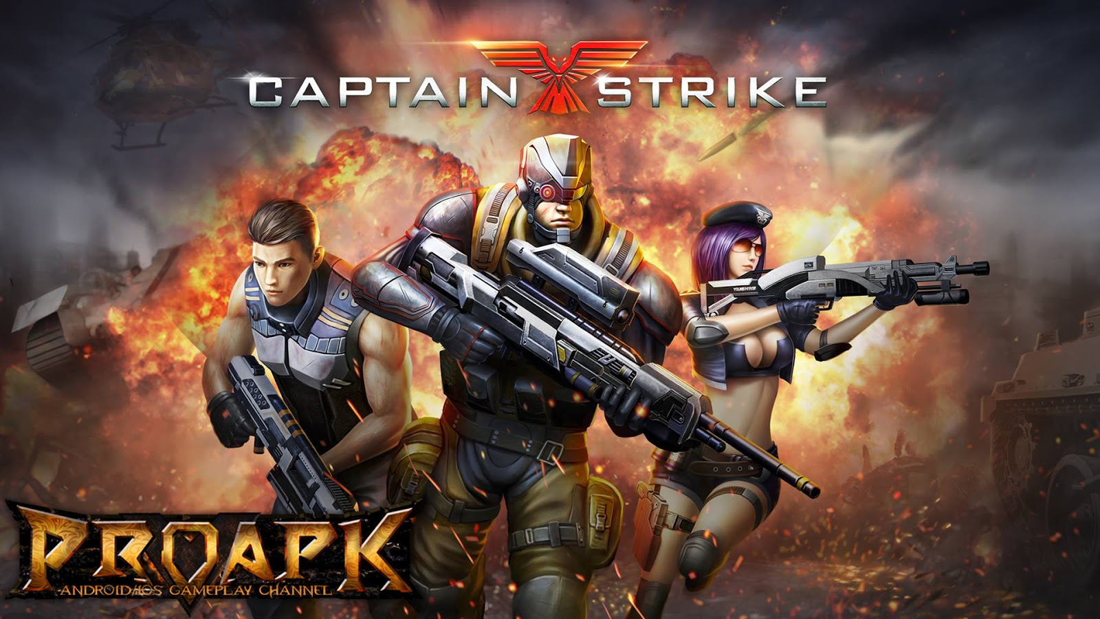 Captain Strike: Real eSport Shooting Game