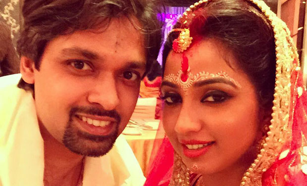 shreya ghosal marriage photo