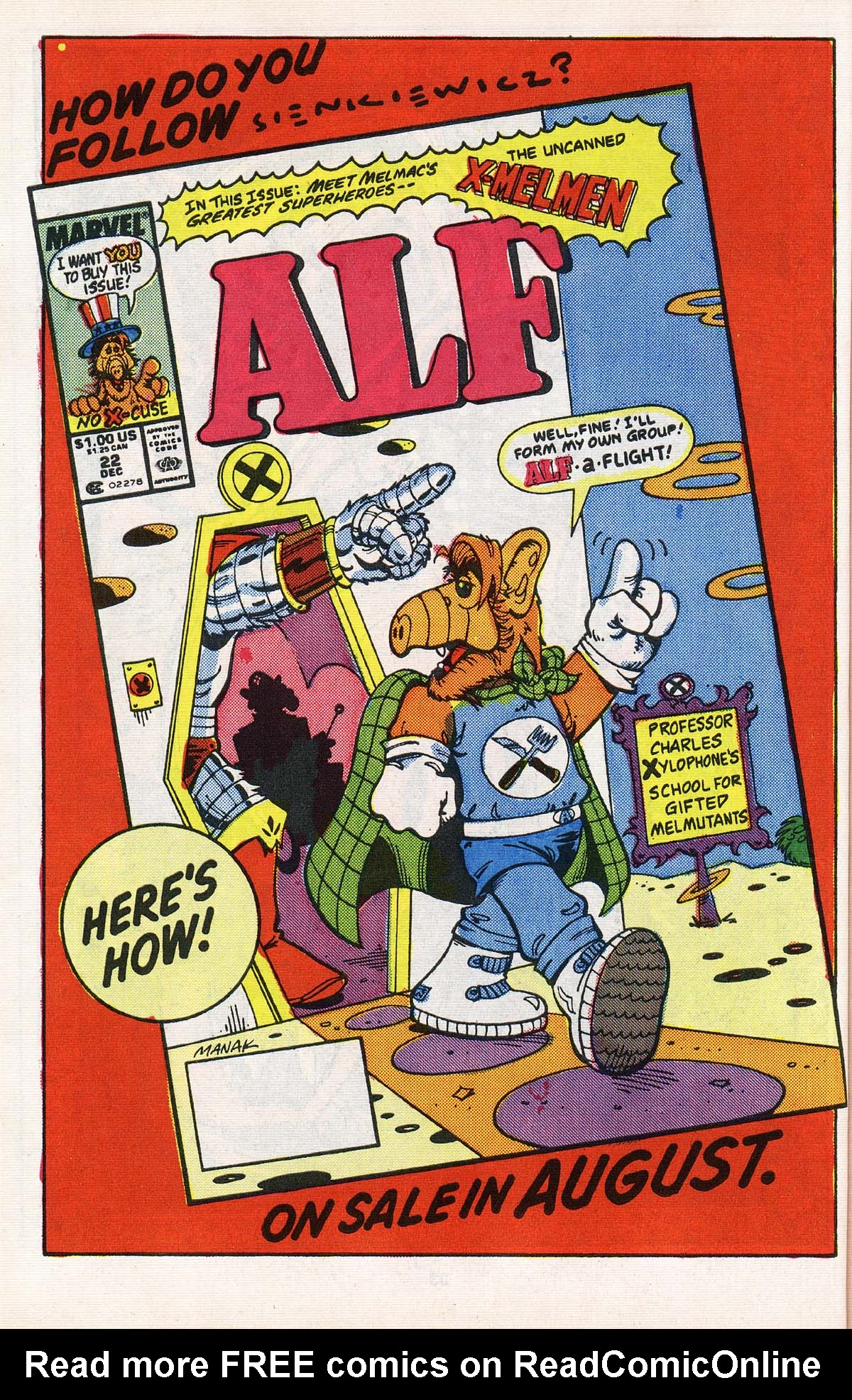 Read online ALF comic -  Issue # _Annual 2 - 32