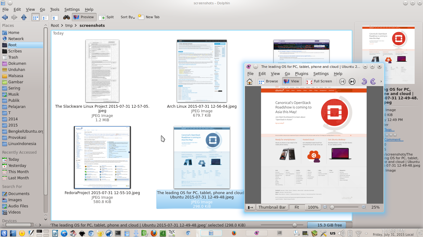 Take Screenshot of Web Page on Chrome and Firefox