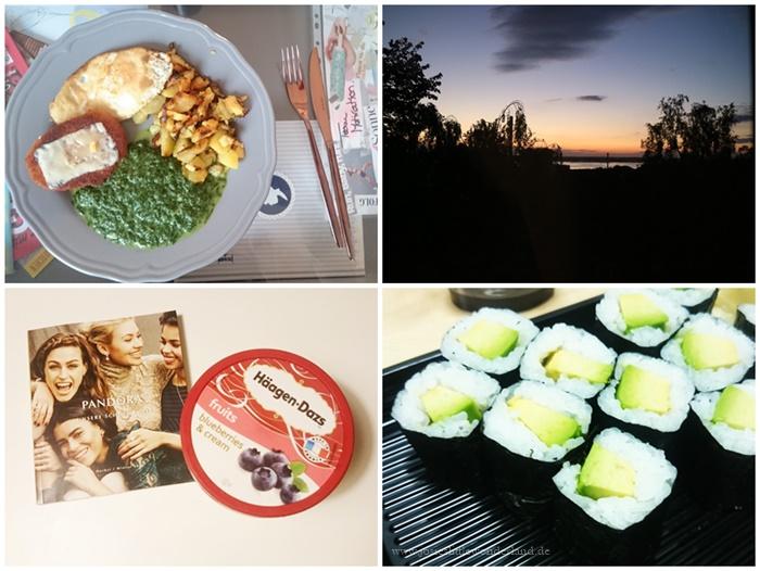 Wochenrückblick #104 - www.josieslittlewonderland.de_food, sushi, häagen dazs, sunset, sailing city