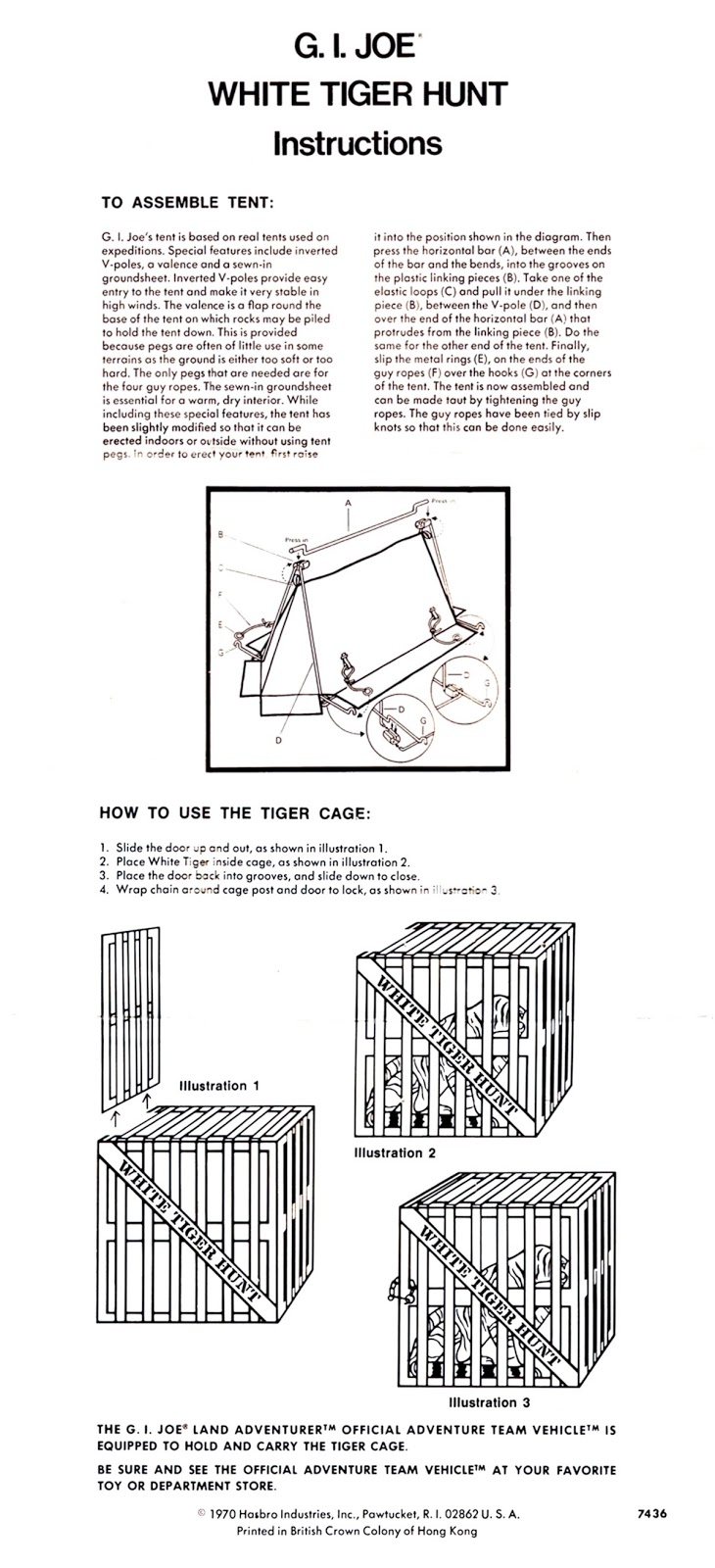 medium resolution of g i joe white tiger hunt instructions aiwaloki s lair tiger skeleton diagram white tiger diagram