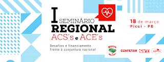 Picuí sediará seminário para agentes comunitários de saúde e de combate às endemias