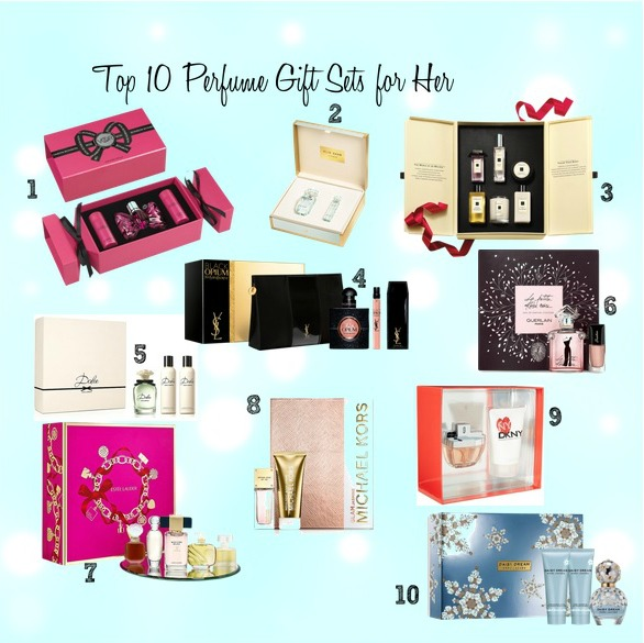 beautyqueenuk: Top 10 Perfume Gift Sets for Her | Christmas Gift Guide