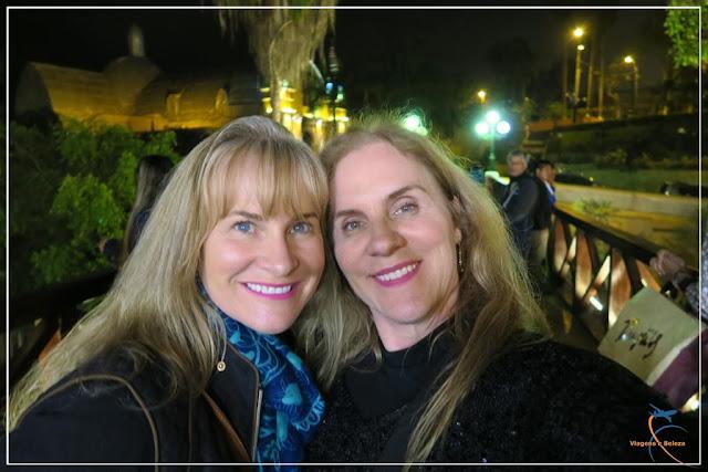 Ponte dos Suspiros em Lima, no peru