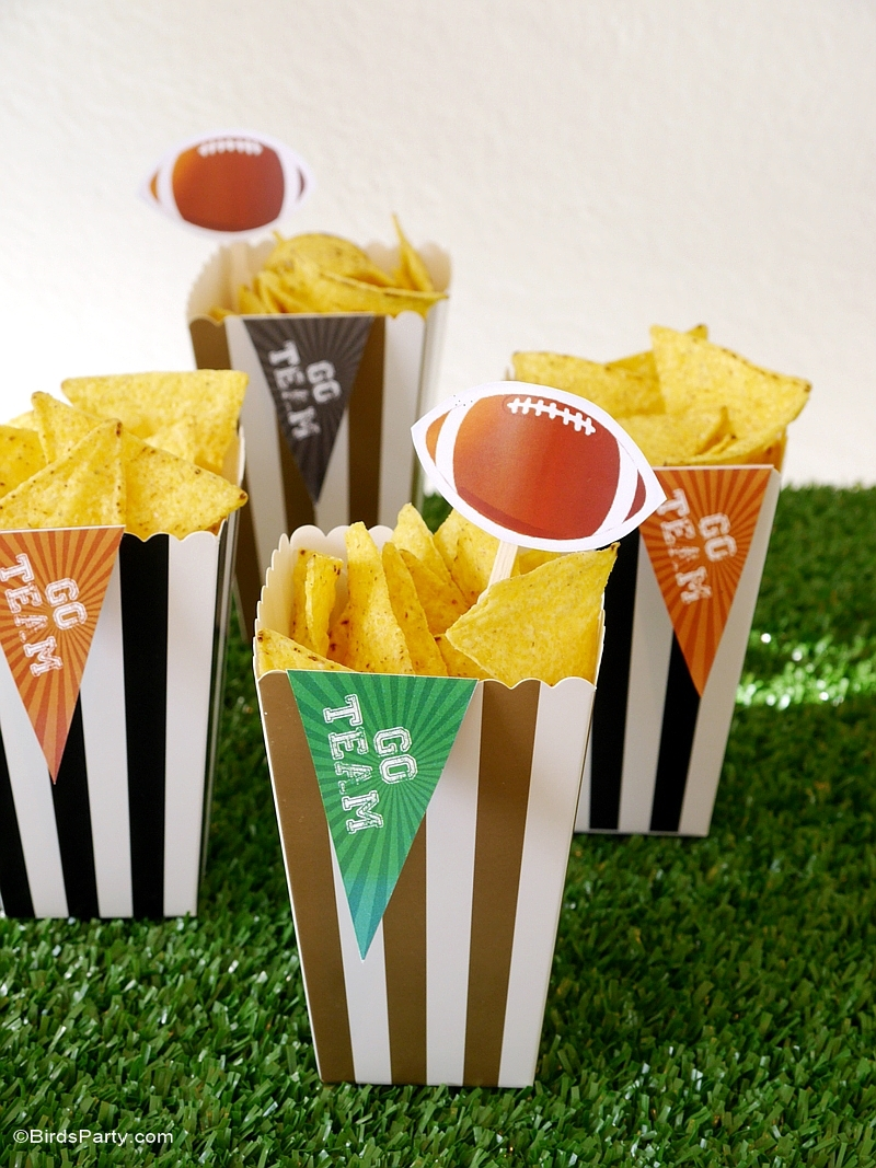 How to host a fab super bowl party party ideas party for Super bowl party items