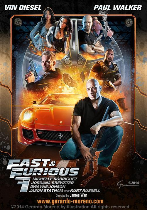 Fast and Furious 7 Full movie 2015 poster
