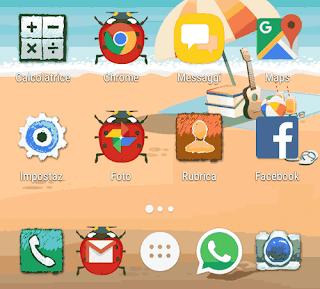 Come ripristinare icone Android