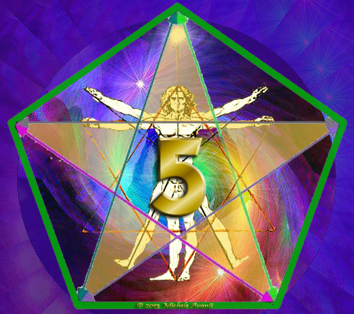 Spiritual Numerology Number 5 1