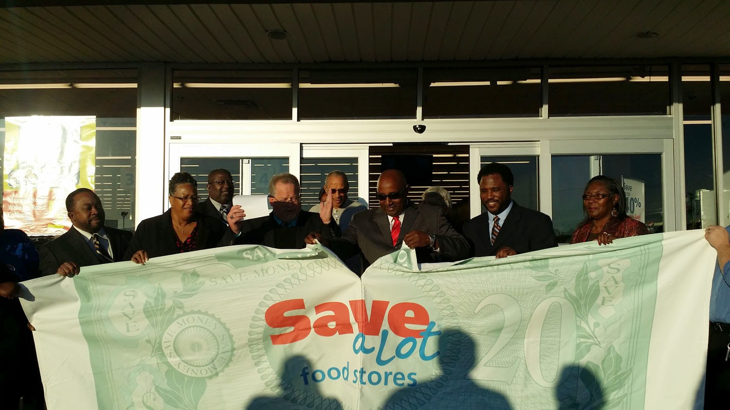 Save-A-Lot Store Opening - Sharp Realty