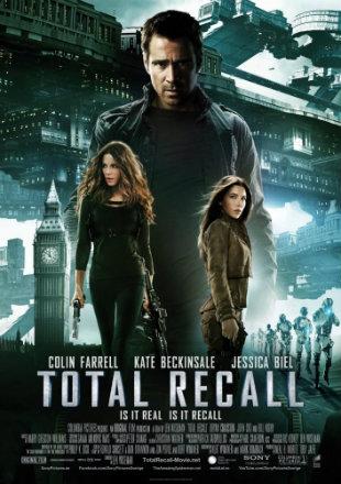 Poster of Total Recall 2012 BRRip 1080p Dual Audio Hindi English