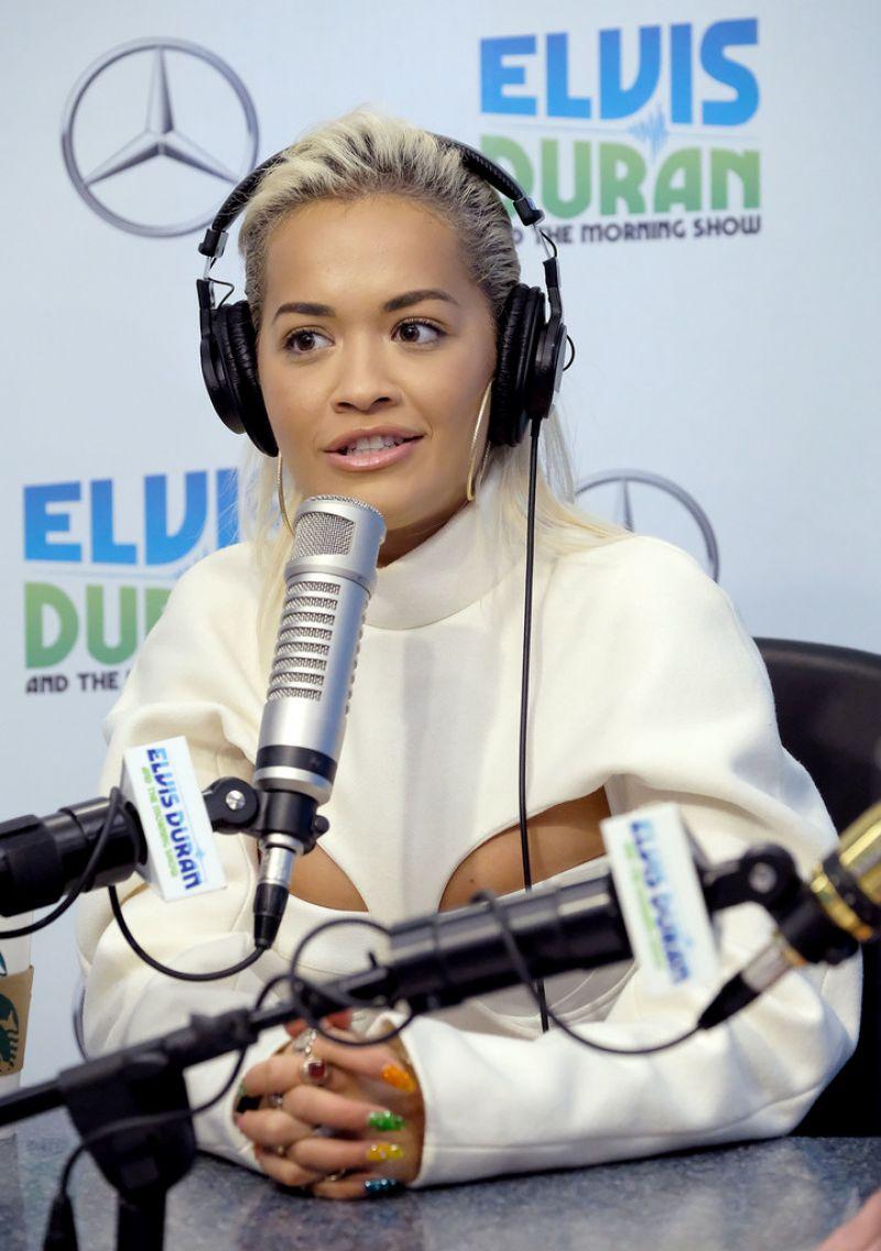 "Rita Ora At ""The Elvis Duran Z100 Morning Show"" in New York City - 01/17/2019"