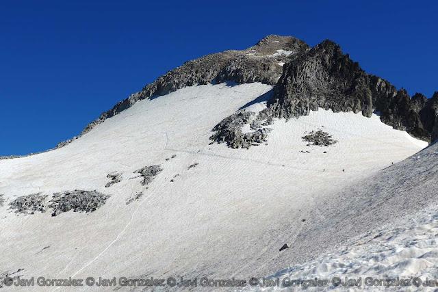 Glaciar del Aneto, Benasque, Huesca