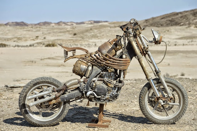 Motorcycle from Mad Max 7