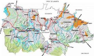Peta bogor map dan wisata bogor tourism