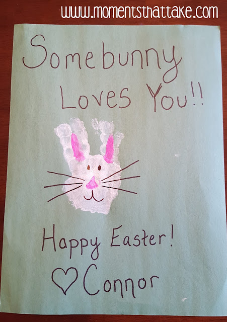 Hand Print Crafts for Easter