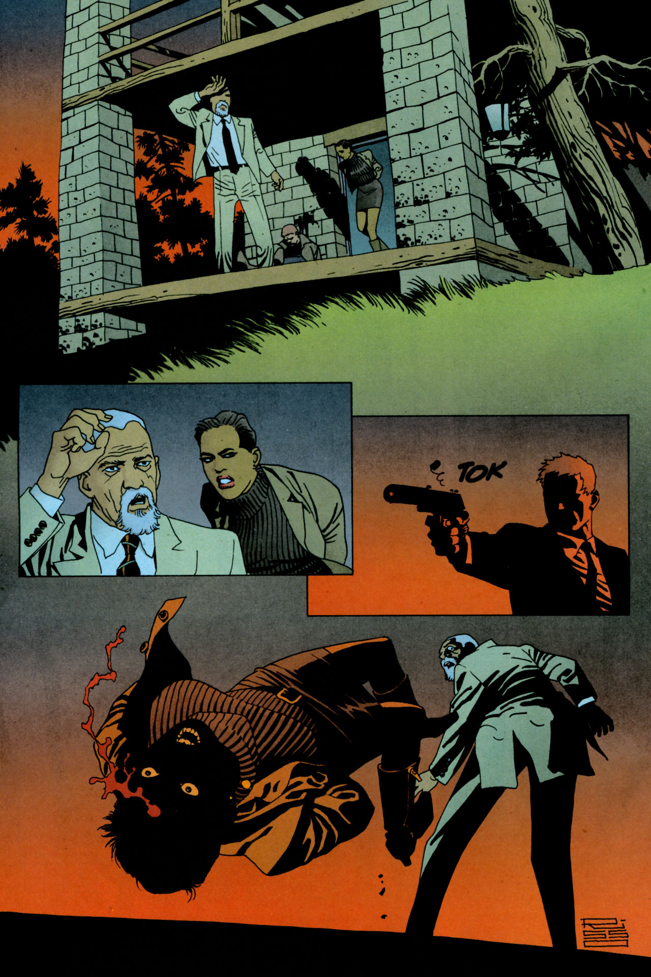 Read online 100 Bullets comic -  Issue #84 - 19