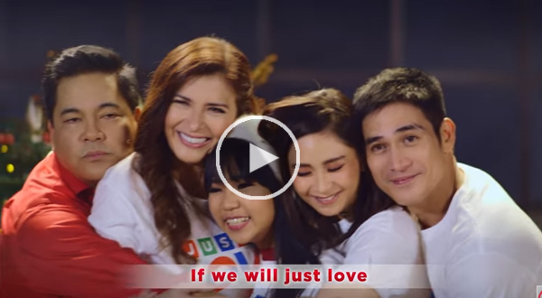 """Watch: ABS-CBN 2017 Christmas Station ID """"Just Love Ngayong Christmas"""" released"""