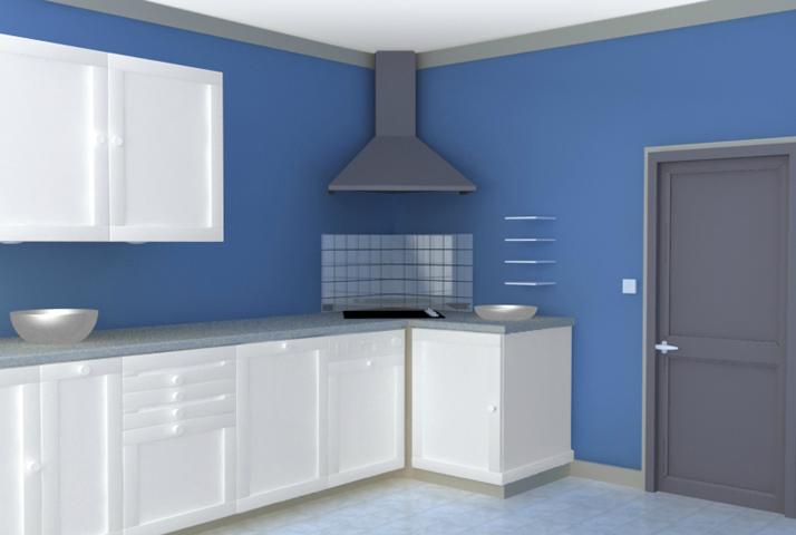 peinture cuisine paris devis peinture paris. Black Bedroom Furniture Sets. Home Design Ideas