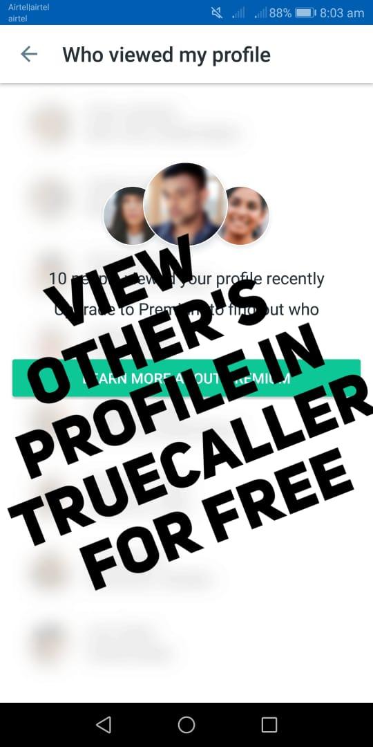 Trick to get Truecaller premium worth RS 500 for free _ Truecaller