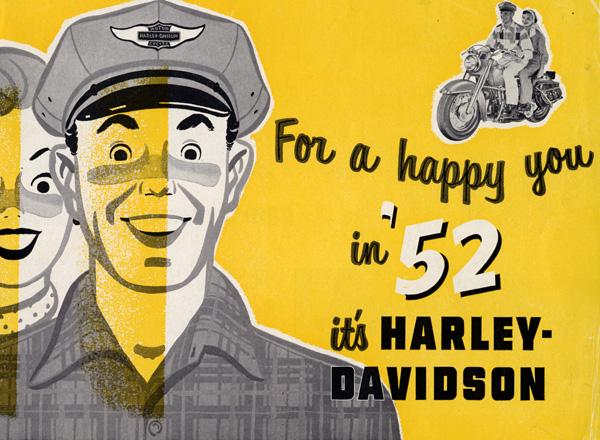 Harley Davidson Advertising: Riding Vintage Old Version: November 2012
