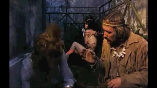 La fameuse scène du trip LSD dans Easy Rider (1969), réalisé par Dennis Hopper