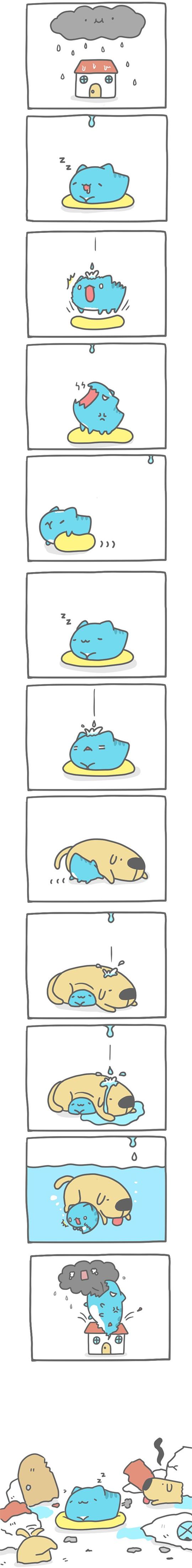 Truyện Mìn Lèo #123: Đám mây giận dữ