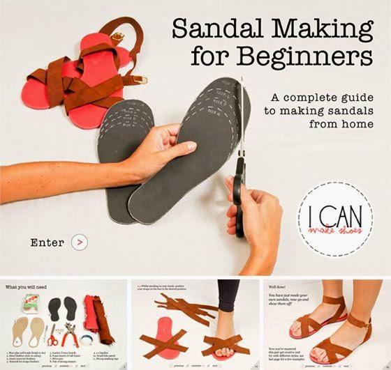 chanclas, zapatos, hacer tus zapatos, zapatillas, plantillas, tutoriales