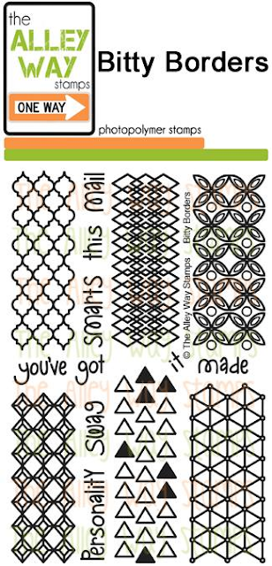 The Alley Way Stamps - Bitty Borders
