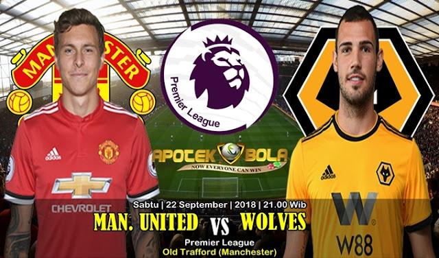 Prediksi Manchester United VS Wolverhampton 22 September 2018
