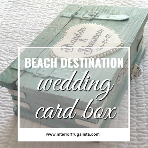 Wedding Card Box for beach destination nuptials