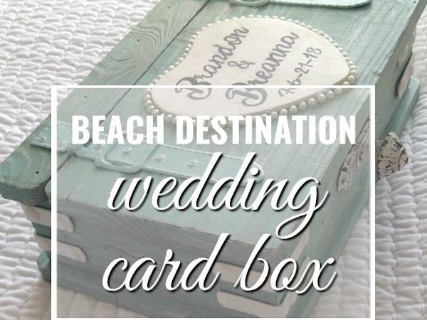 Wedding Card Box for beach destination nuptials