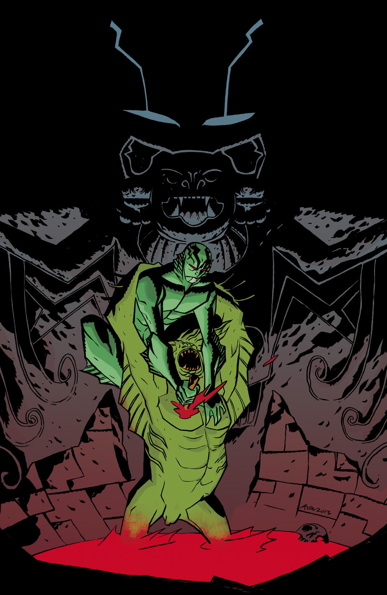 Read online Abe Sapien comic -  Issue #8 - 27