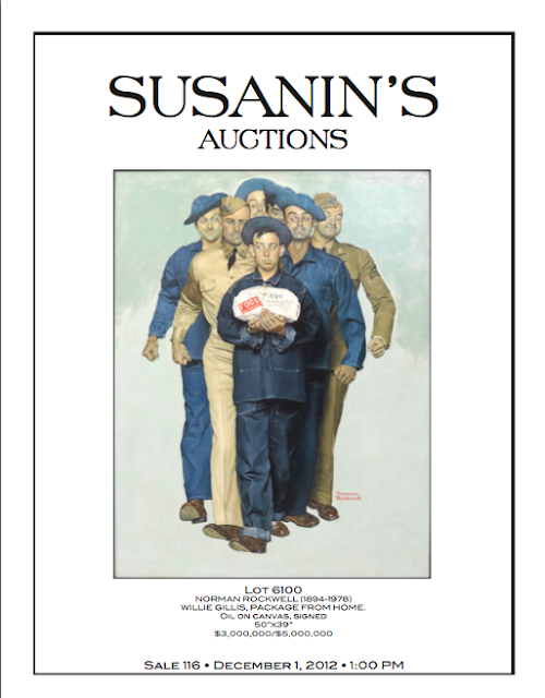 Did Susanin's actually sell the same Norman Rockwell for $2.8 million in December 2012