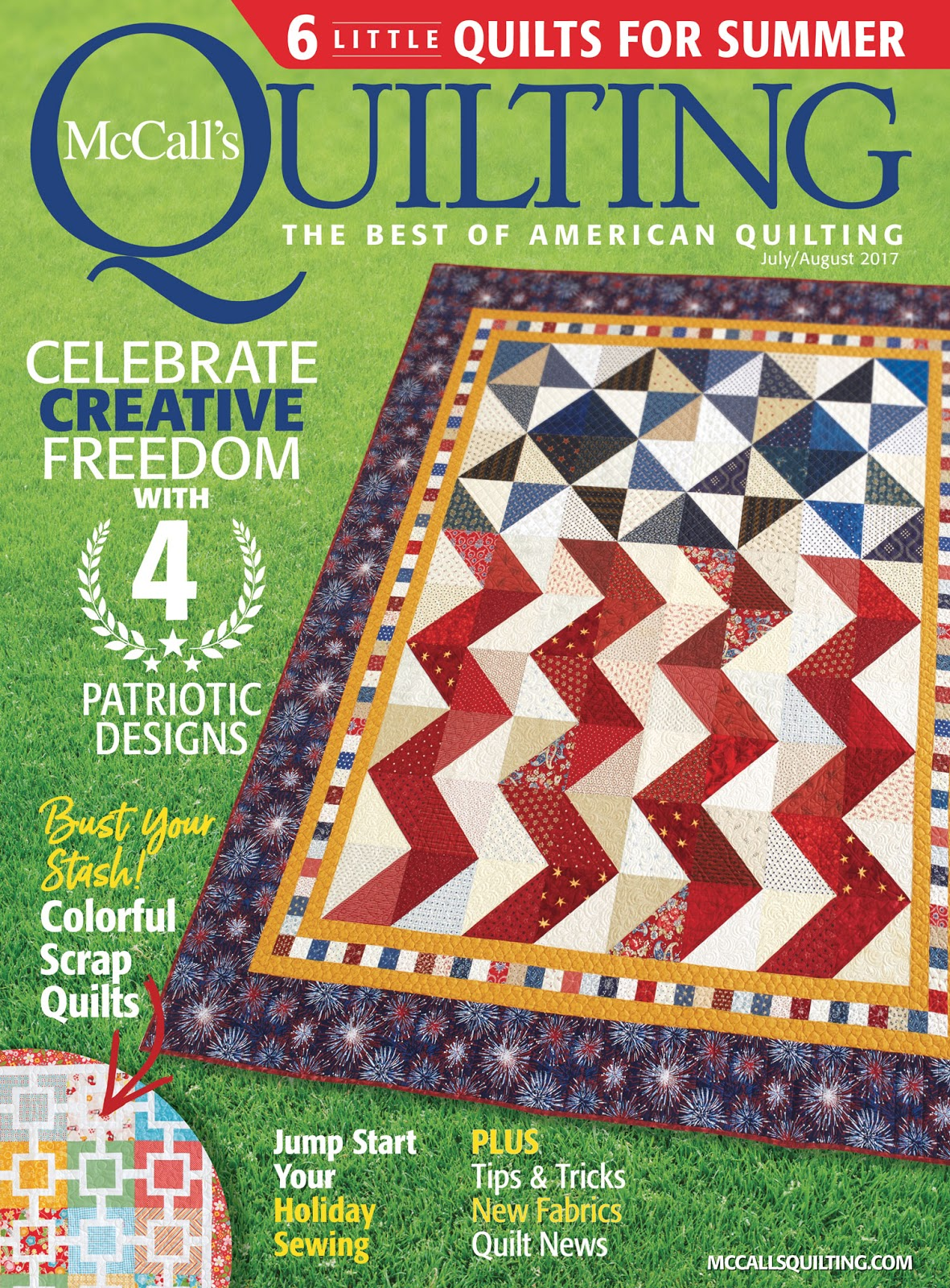 Happy Quilting Star Crossed Featured In Mccalls Quilting