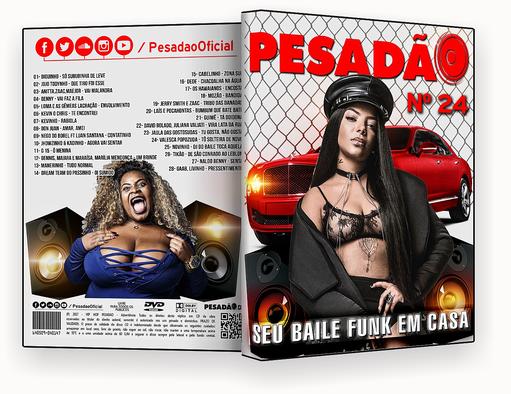 PESADAO VOL.24 DVD-R – CAPA DVD