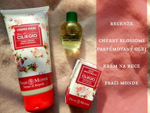 parfémovaný olej, krém na ruce, recenze