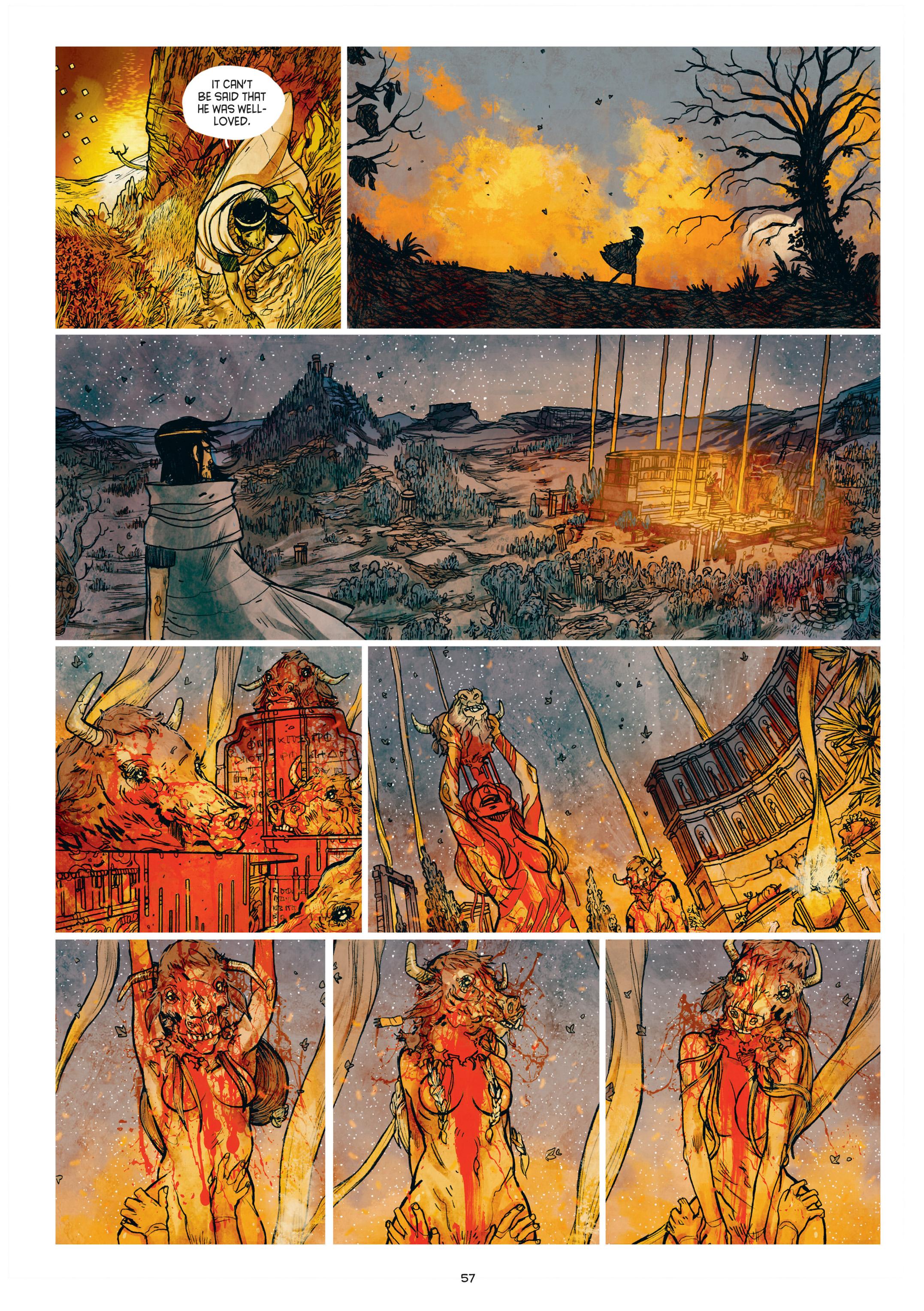 Read online Adrastée comic -  Issue #1 - 58