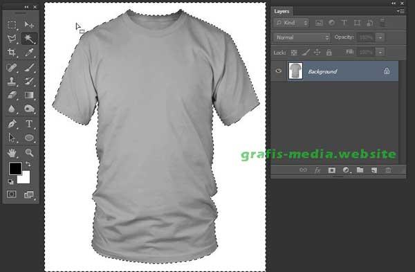 website mempunyai tutorial photoshop menarik Cara Membuat Mockup T-Shirt Dengan Photoshop