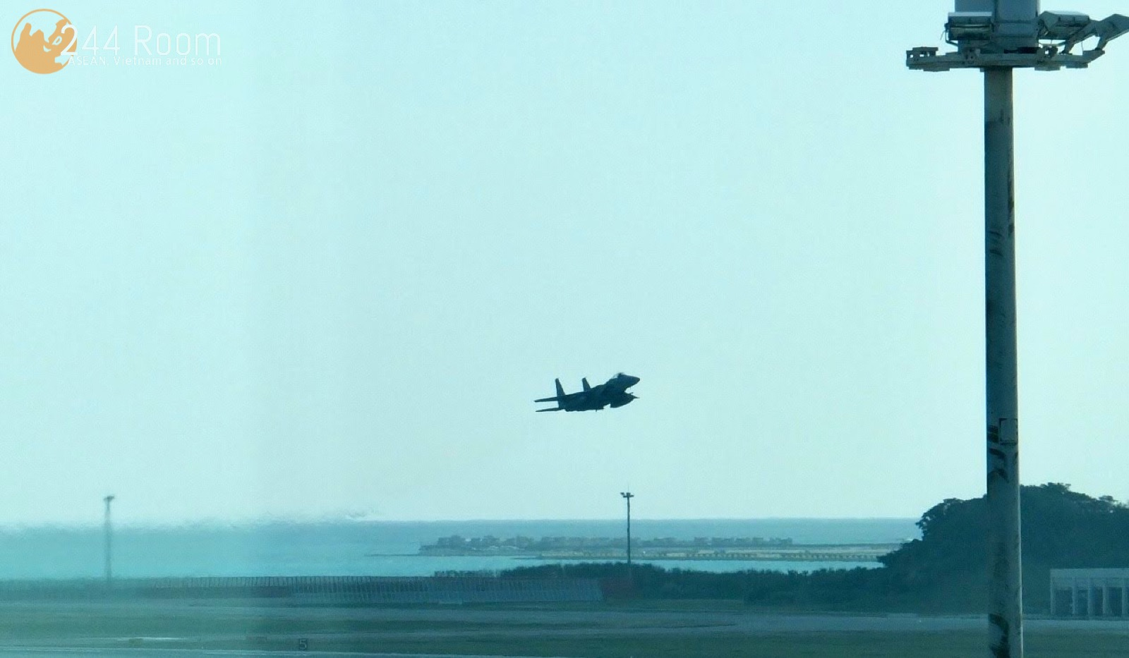 F15 Fighter Jet F15戦闘機のスクランブル