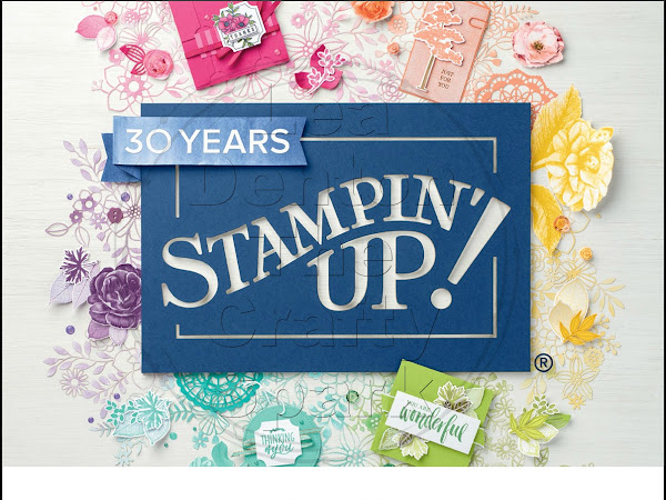 Launching the new Stampin' Up! Annual Catalogue 2018-2019