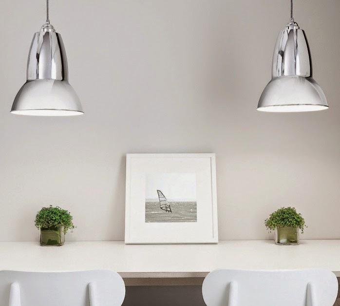 lámparas retro estilo industrial