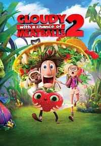 Cloudy With A Chance Of Meatballs 2 (2013) 300MB HD Dual Audio Download