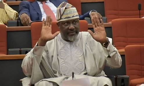 Dino Melaye Reacts To Confession of Arrested Criminal Who Implicated Him